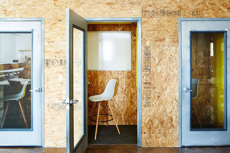 brad sherman of b.sherman studio chipboard design for the mobile commons office 14
