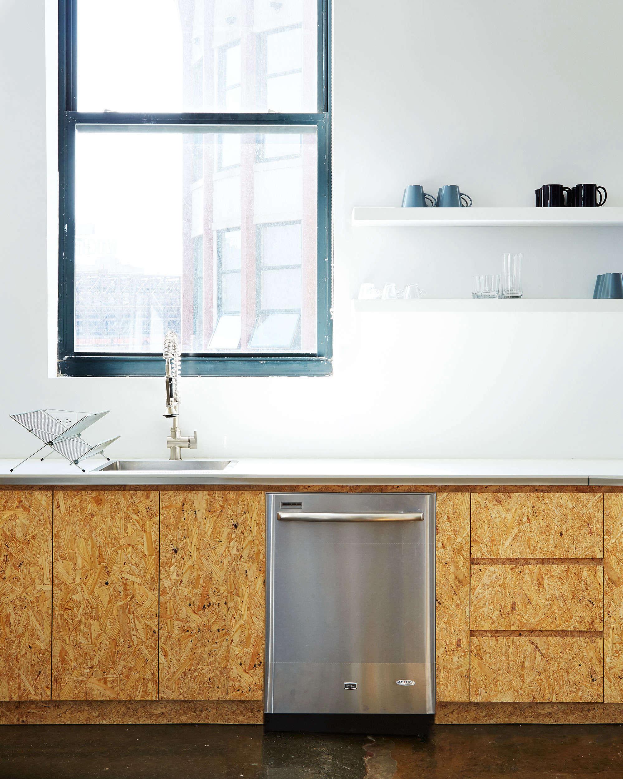 custom chipboard kitchen cabinets in the brad sherman designed office kitchen f 10