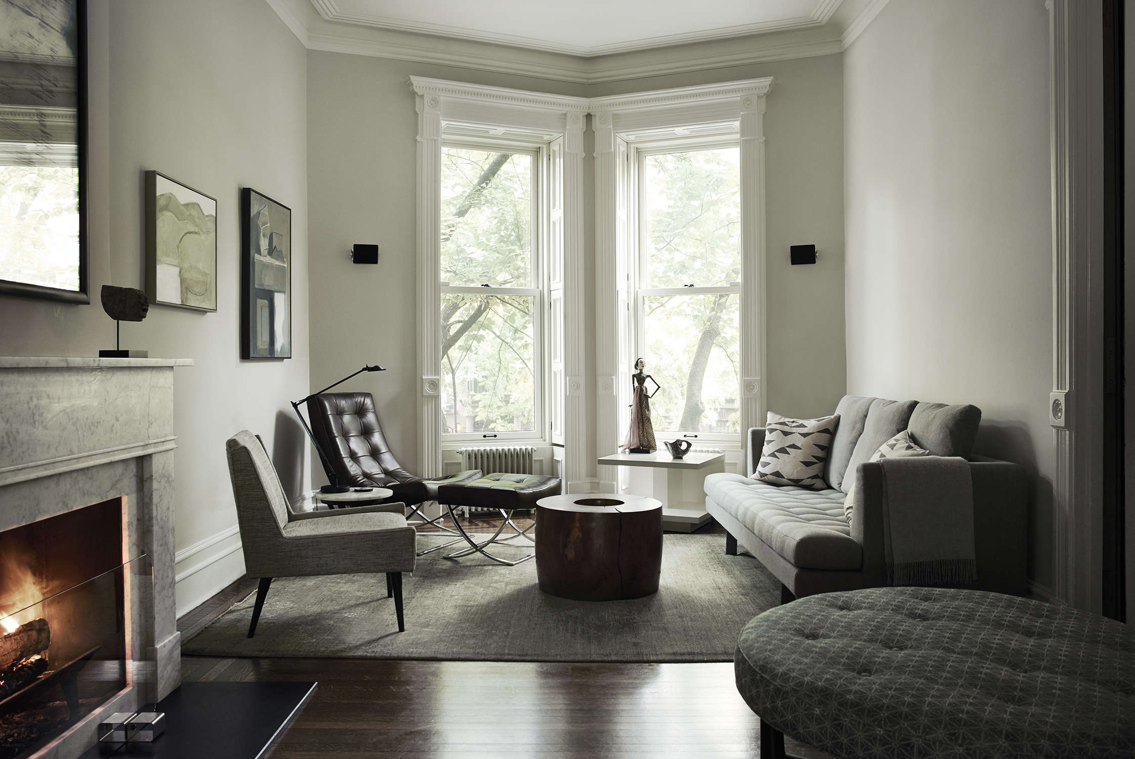 Brooklyn townhouse remodel by Bangia Agostinho Architecture and Suzanne Shaker | Remodelista