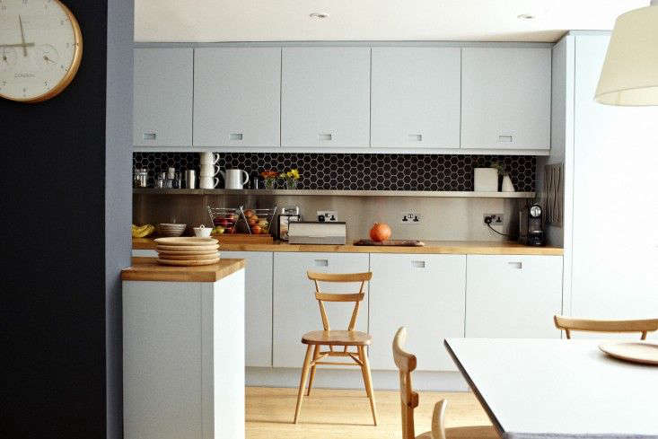 I wanted a warm material for our open kitchen, so I selected src=