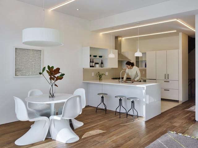 mesh architectures kitchen with embedded led lighting remodelista 11