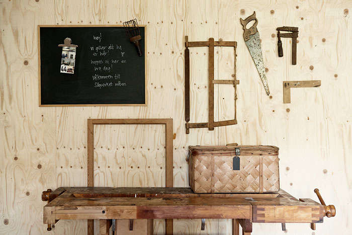 woodshop at sågverket, a stylish country hostel and retreat center on the coa 16