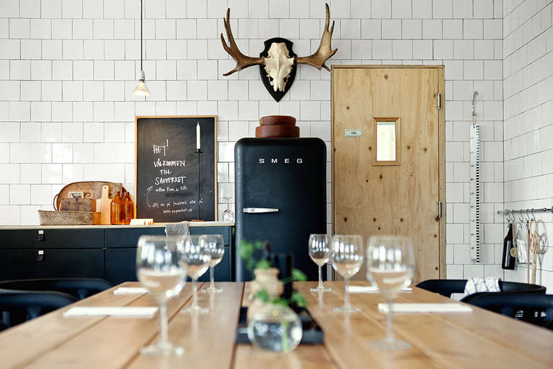 the restaurant at sågverket, a stylish country hostel and retreat center on t 10
