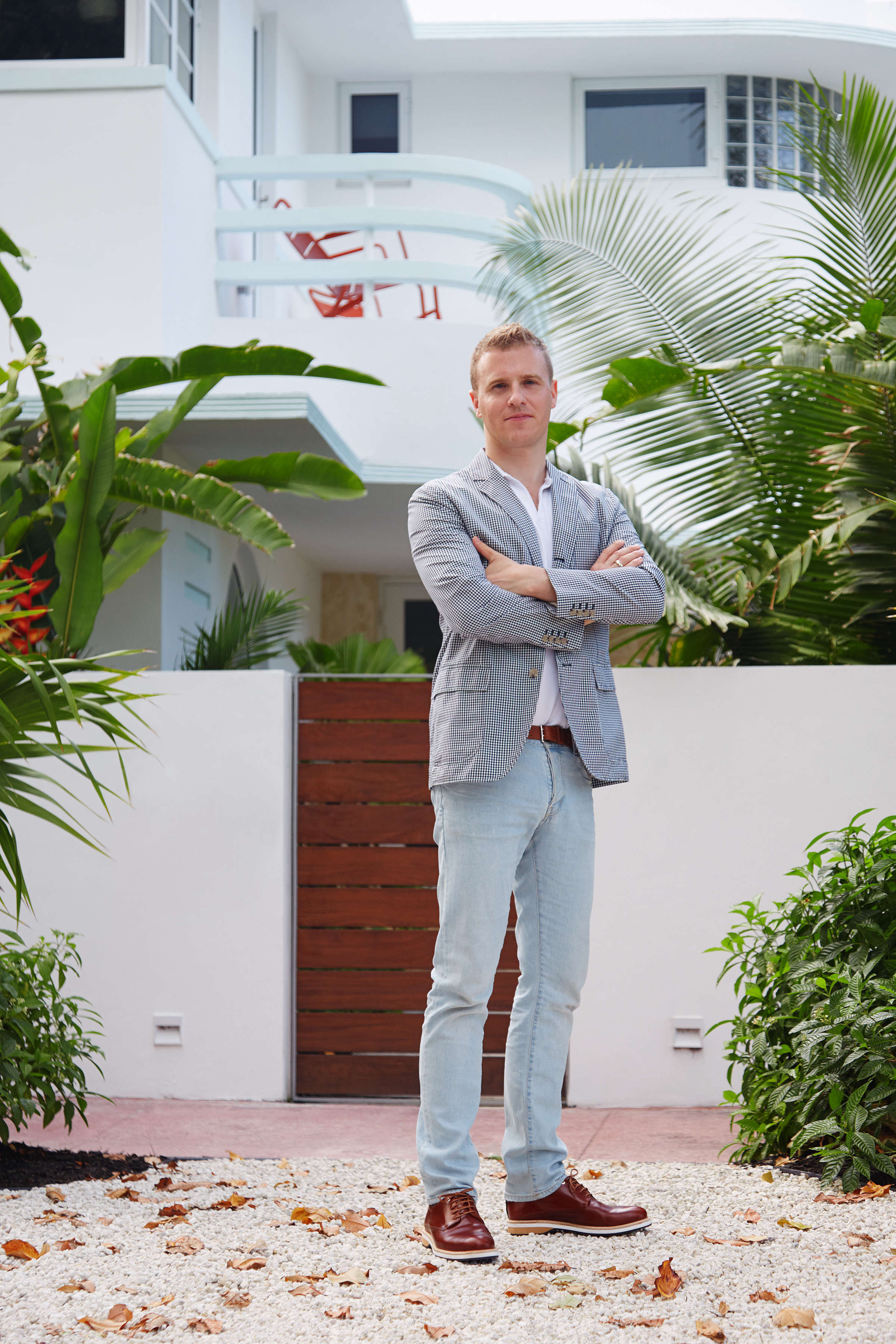 Modern in Miami At Home with a Worldly Contemporary Furniture Dealer Stephan Weishaupt Miami | Remodelista