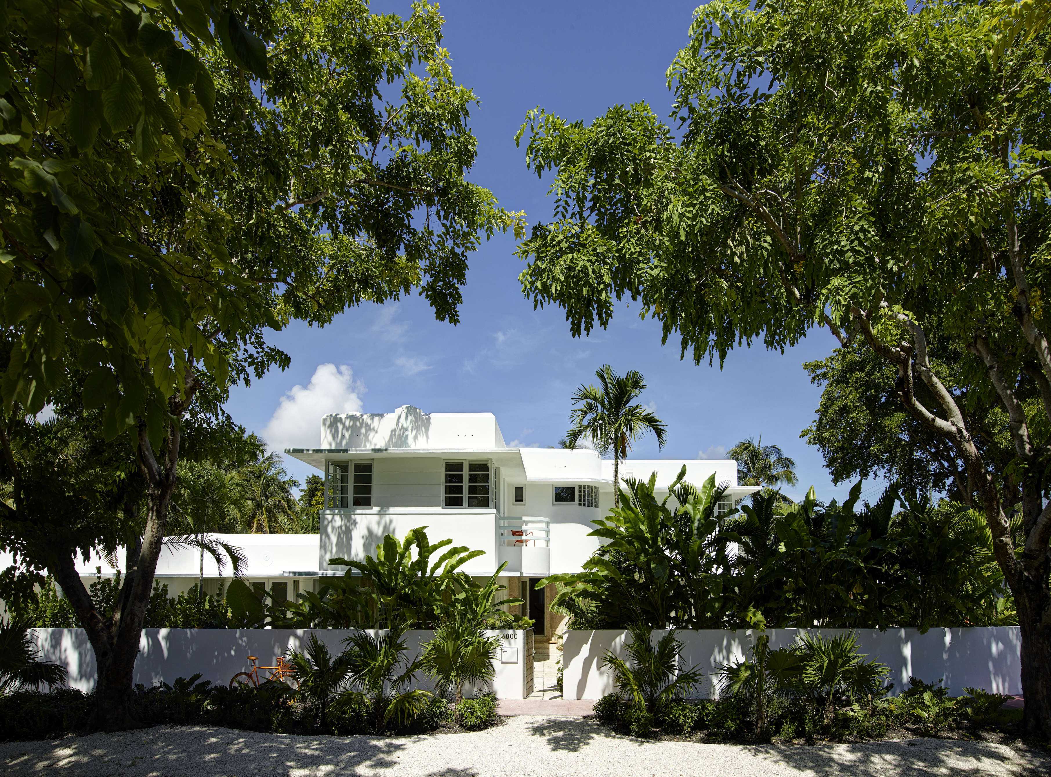Modern in Miami At Home with a Worldly Contemporary Furniture Dealer Revived 1932 Miami art deco villa belonging to contemporary furniture dealer Stephan Weishaupt of Avenue Road, Richard Powers photo | Remodelista