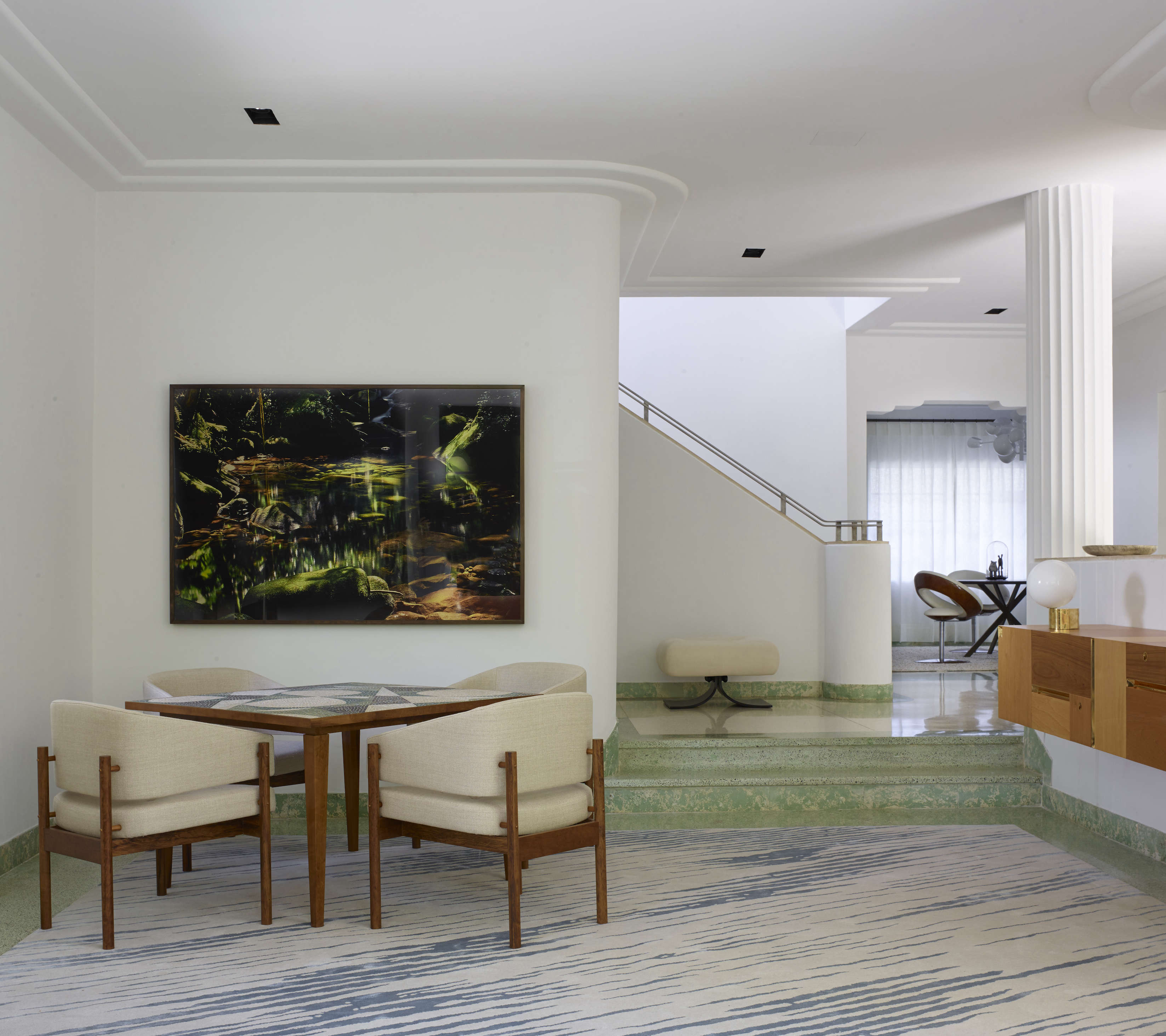 Modern in Miami At Home with a Worldly Contemporary Furniture Dealer At home in a revived 1932 Miami villa with contemporary furniture dealer Stephan Weishaupt of Avenue Road, Richard Powers photo | Remodelista