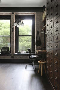 union studio new york loft bedroom office remodelista 17