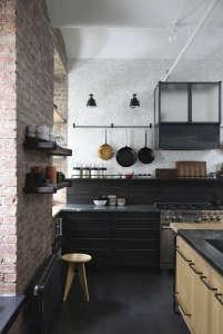 union studio new york loft kitchen storage remodelista 13