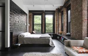 union studio new york loft master bedroom remodelista 16