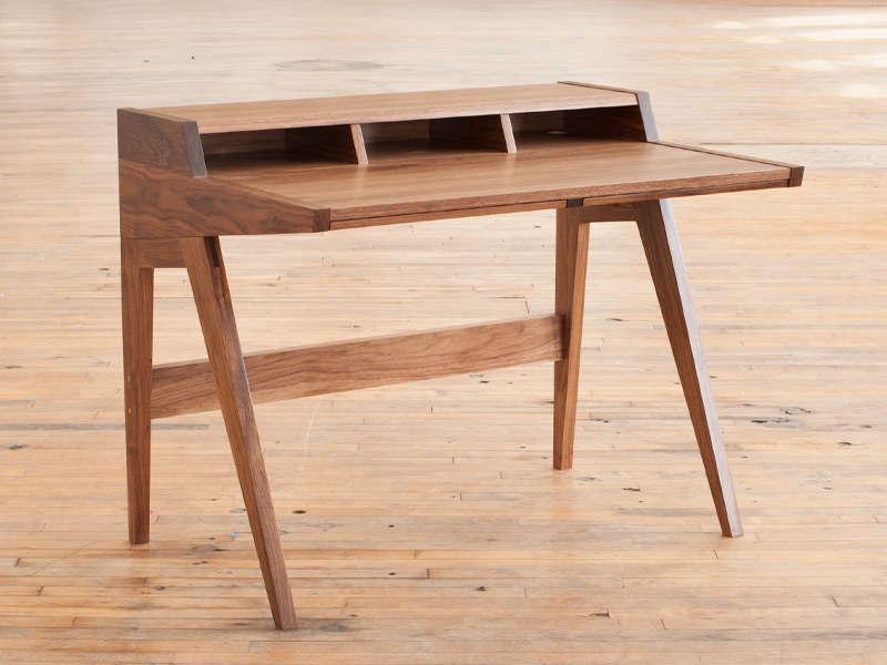10 Easy Pieces Hardworking Desks ben klebba laura desk remodelista