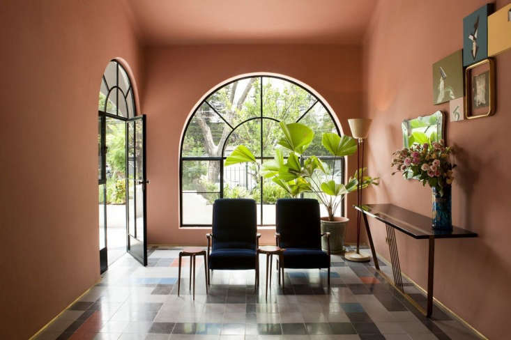 Barragán-esque pink interiors at Casa Fayette in Guadalajara; for more, seeNext Wave Modernism: Casa Fayette in Mexico.