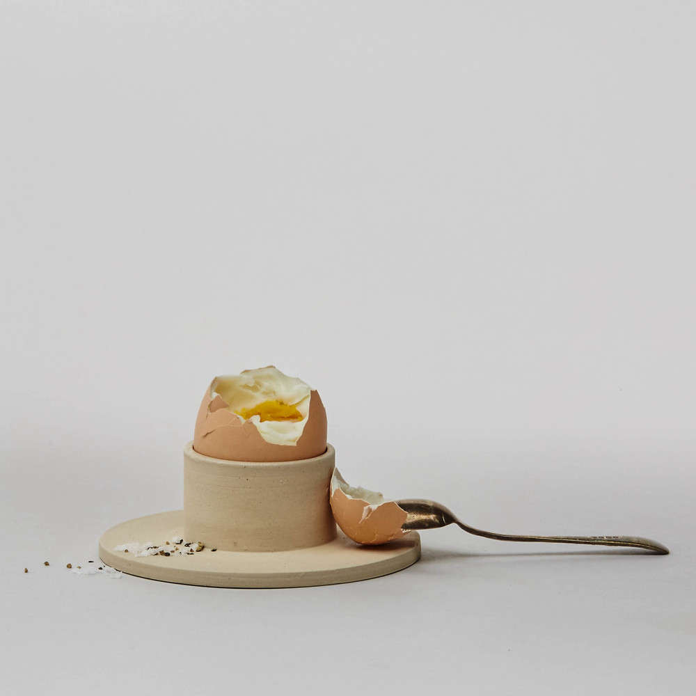 egg cup by Jono Smart at SimpleShape, Remodelista