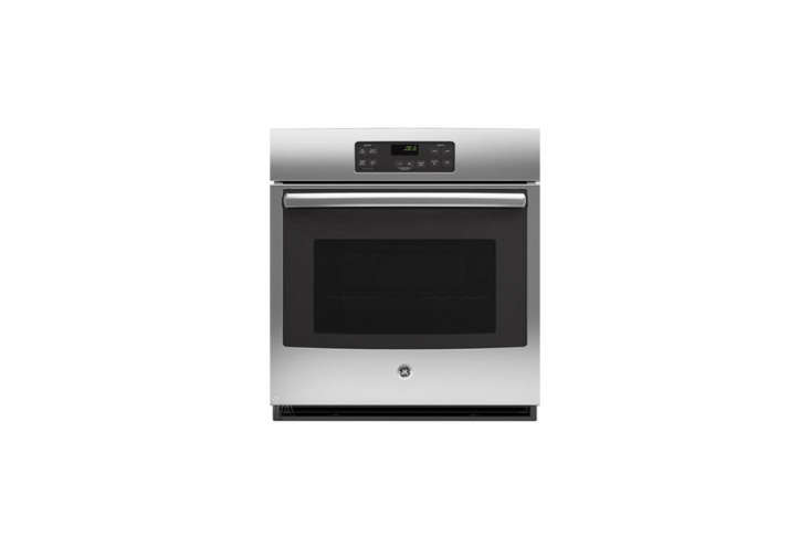 the ge \27 inch electric wall ovenis \$\1,073 for the stainless steel model a 16