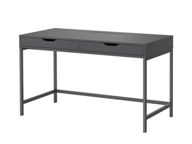 10 Easy Pieces Hardworking Desks ikea alex desk grey remodelista