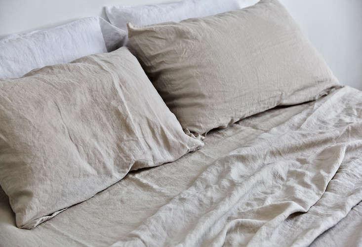 in bed linen bedding dove remodelista 19
