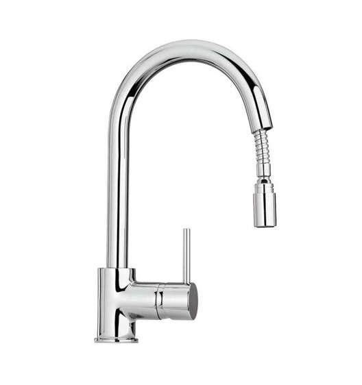 10 Easy Pieces PullDown Sprayer Faucets latoscana elba pull down faucet remodelista