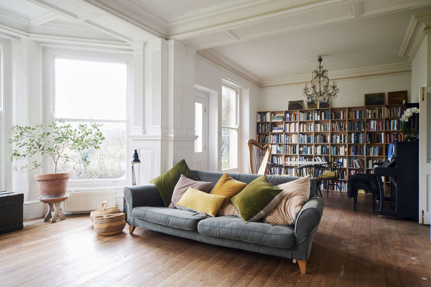 Photograph fromOn the Market: A Historical House Reimagined for a Modern Family in Stroud, England.