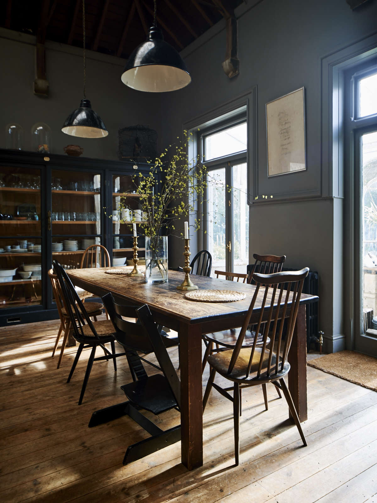 On the Market A Historic House Reimagined for a Modern Family in Stroud England niki turner table