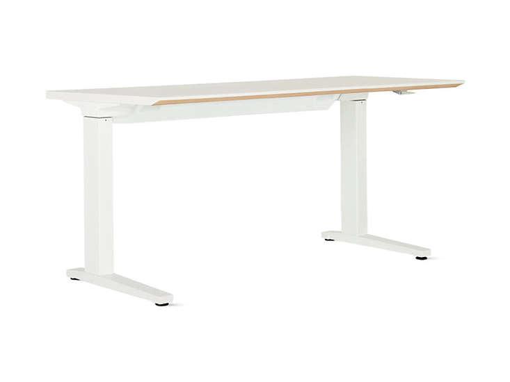 10 Easy Pieces Hardworking Desks renew sit to stand desk remodelista