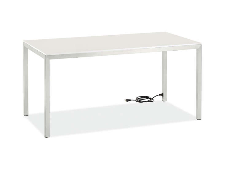 10 Easy Pieces Hardworking Desks room and board portica desk remodelista