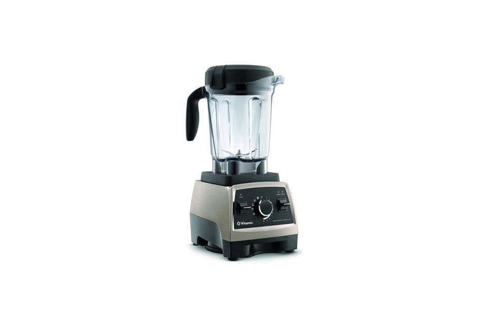 The Vitamix Professional Series 750 Heritage Blender has preprogrammed settings,  speeds, and pulse; $599.95 at Williams Sonoma. For more blenders, see our post  Easy Pieces: The Best Blenders.