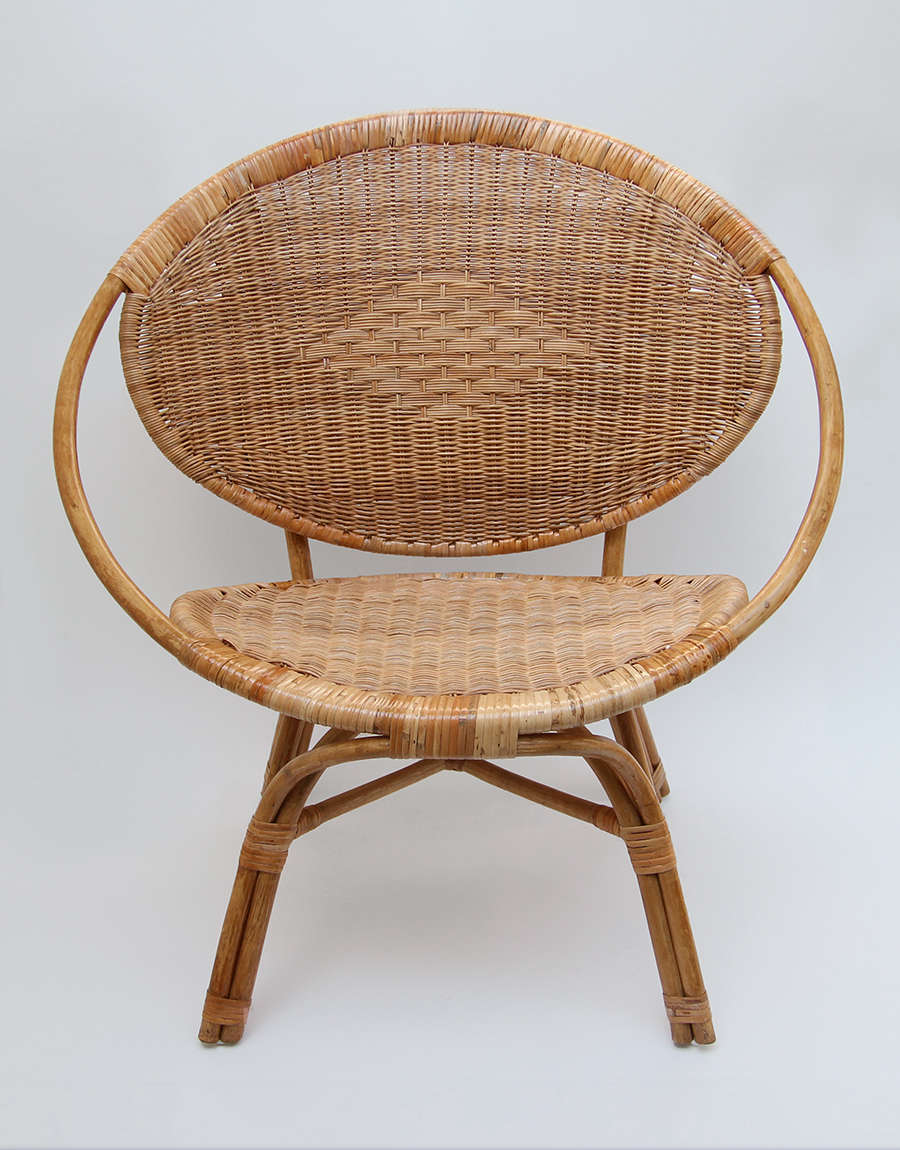 woven rattan ring chair remodelista 10