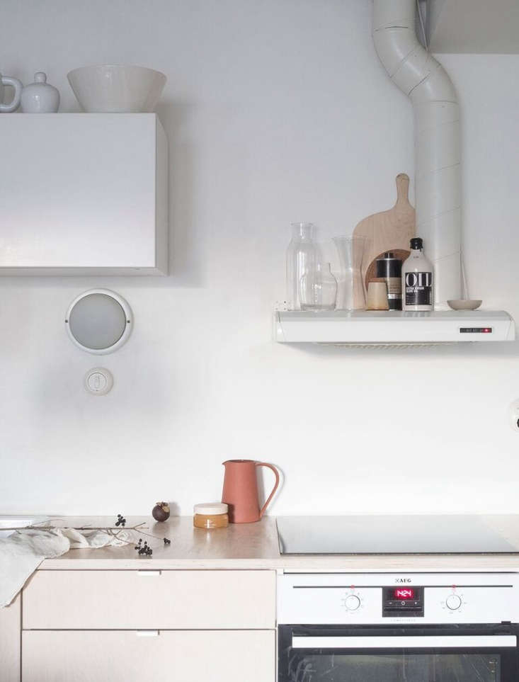 Photograph from Kitchen of the Week: A Stylist's $3,400 Kitchen Makeover, DIY Scandi Edition.