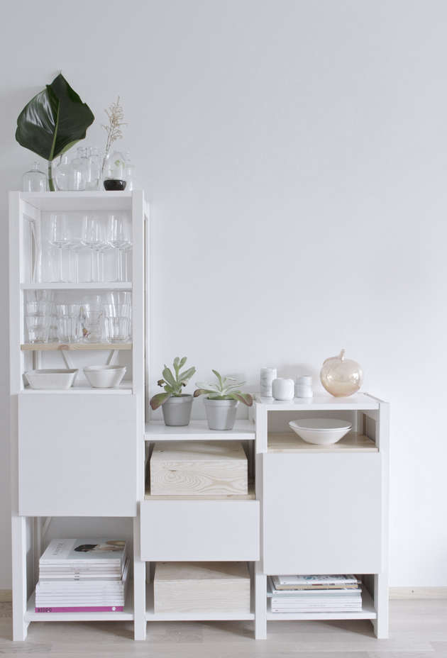 modular multi height shelves by lundia—&#8\2\2\1;a really nice finnish br 16