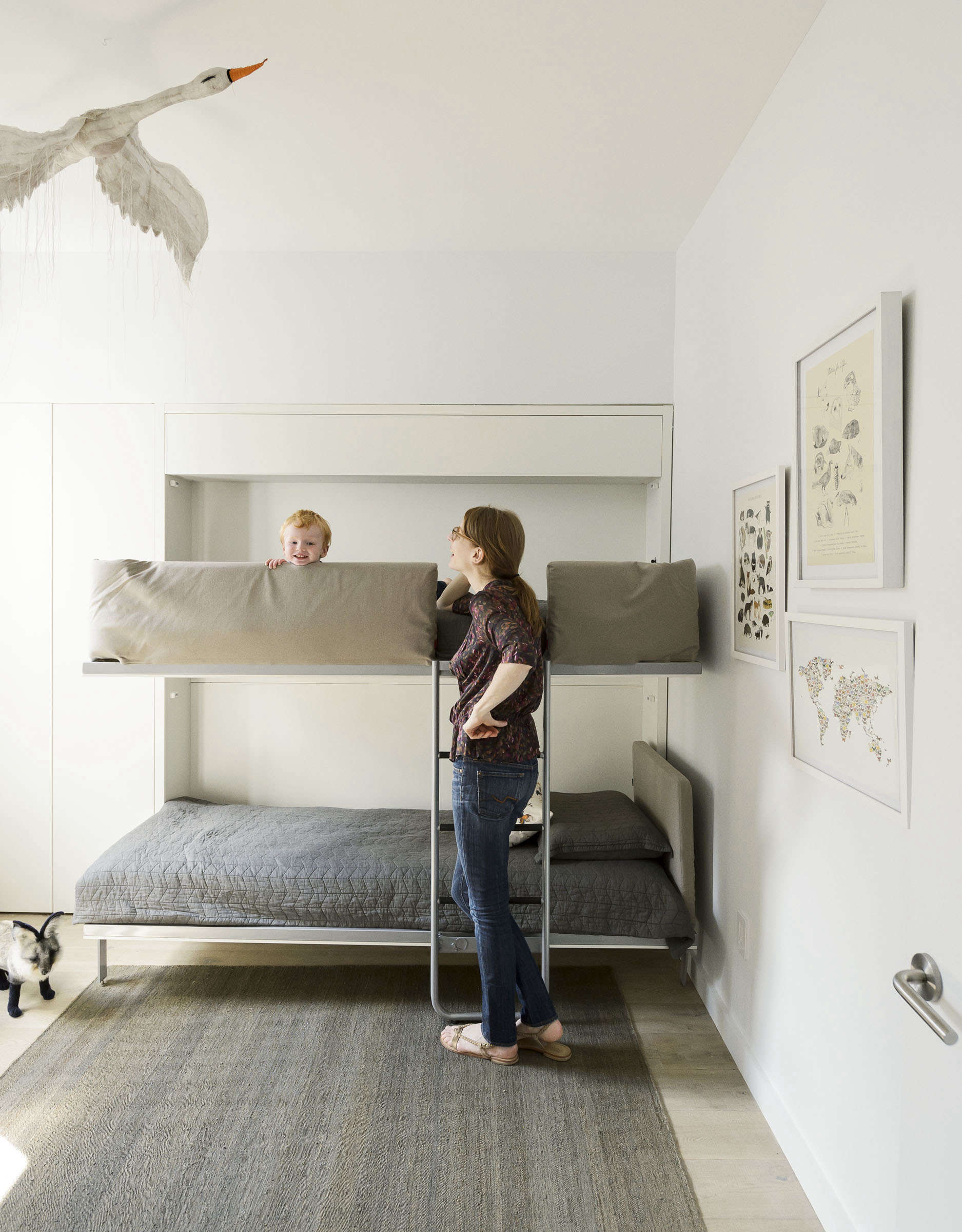 Murphy bunkbeds by Clei of Italy, Matthew Williams photo | Remodelista