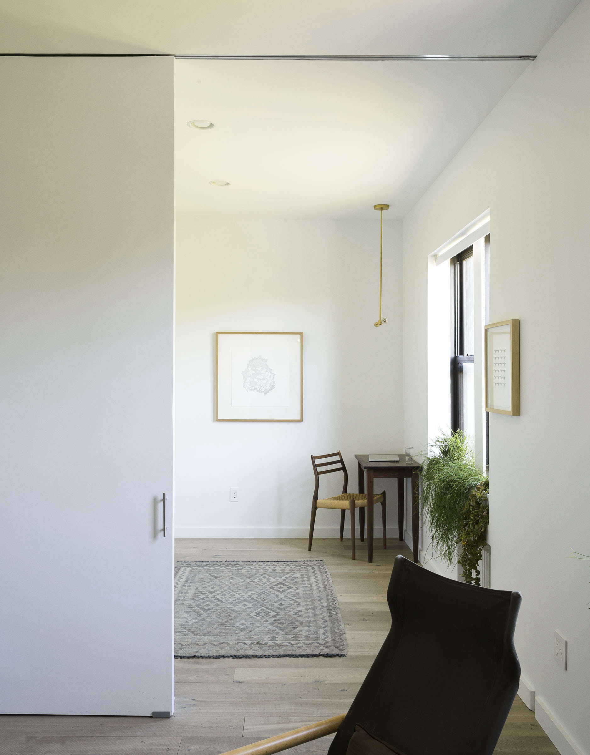 Standout small apartment remodel for a family of four: Jacqueline-Schmidt and David Friedlander's 675-square-foot Brooklyn quarters, Matthew-Williams-photo | Remodelista