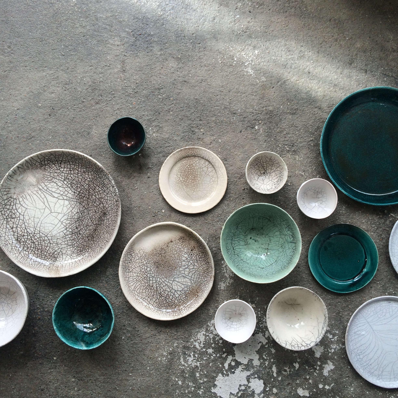 Elin Lannsjo ceramics, Raku, Remodelista