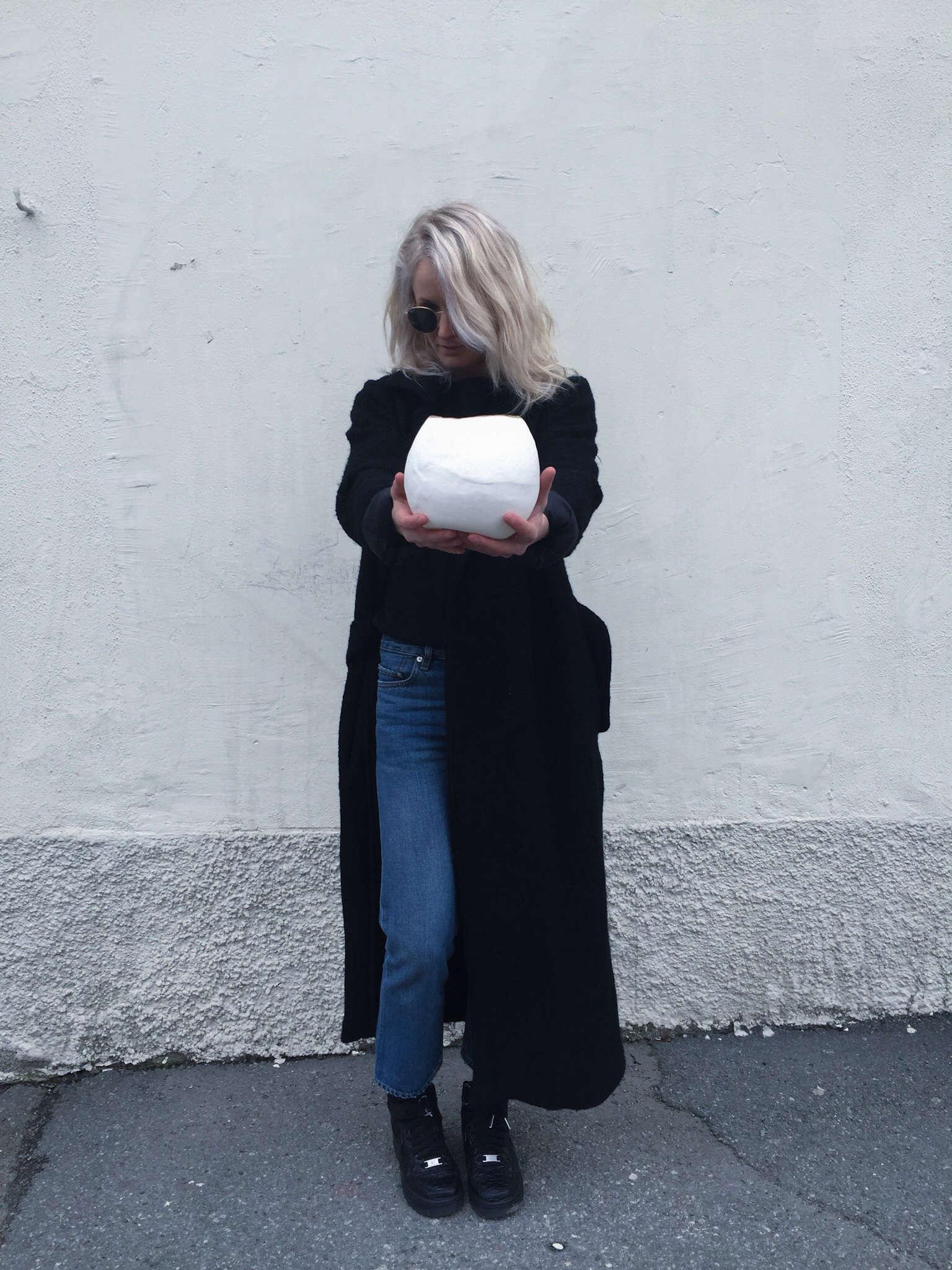 Elin Lannsjo ceramics, globe, Remodelista