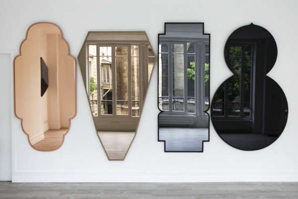 shaped and tinted mirrors by jose levy from his morocco collection  remodelista 15