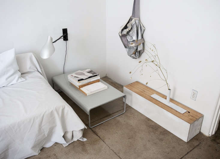 Photograph by Matthew Williams for Remodelista, from World's Tiniest Spa Bath: A Grecian-Inspired Guest Suite in LA.