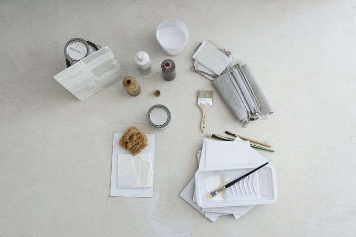 Photograph by Matthew Williams for Remodelista, fromDIY Paint: Designer Michaela Scherrer Mixes Her Own Shades of White.