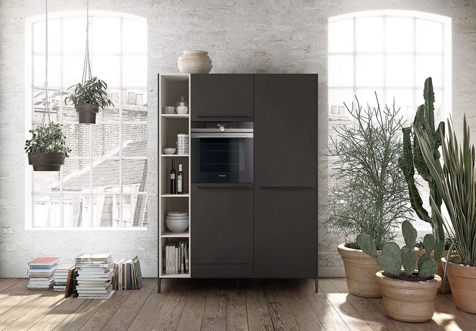 The minimalist kitchen cabinet from SieMatic's Urban line | Remodelista