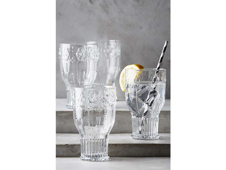 anthropologie clear glasses remodelista 26