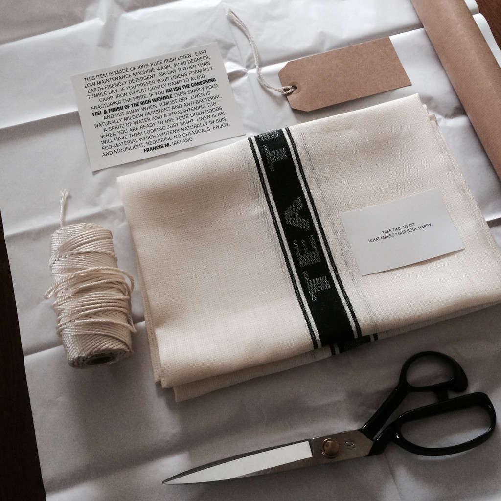 francis m studio irish linen tea towel remodelista 2 9