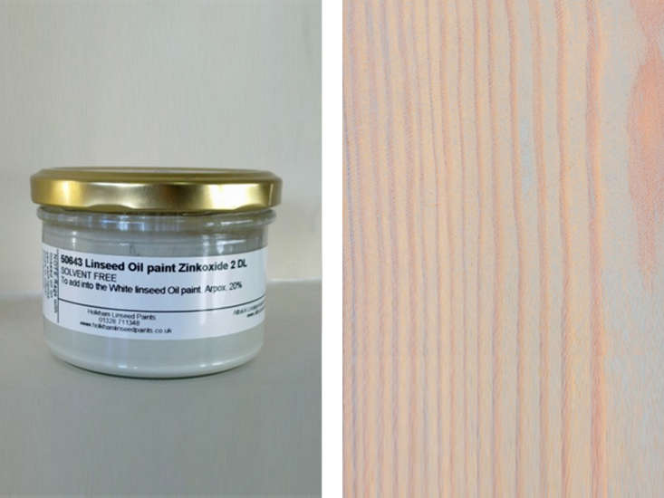 Back to Nature The Appeal of Linseed Paints linseed oil wax in grey remodelista