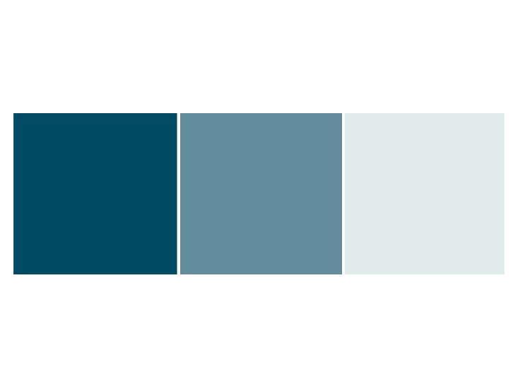 Back to Nature The Appeal of Linseed Paints Linseed Oil Paints in Shades of Blue