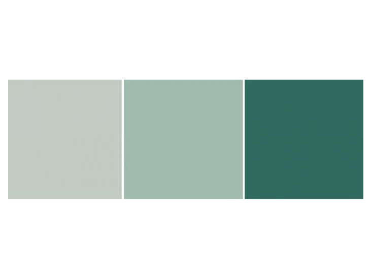 Back to Nature The Appeal of Linseed Paints Linseed Oil Paints in Shades of Green