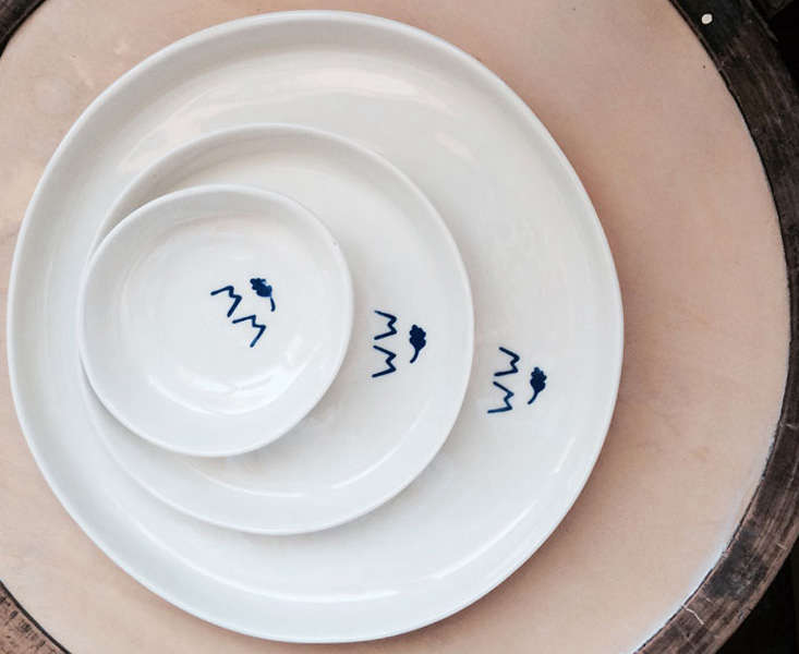 margarida f monogram plates remodelista 19