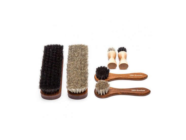 shoe polishing kit hanger project remodelista 12