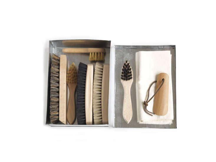 shoebrush set aluminum box remodelista 9