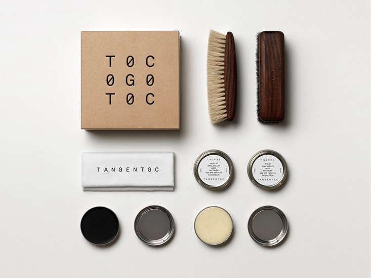 tangent garment care brush set shoes remodelista 13