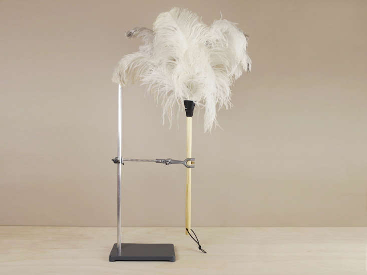 white feather duster objects of use remodelista 25