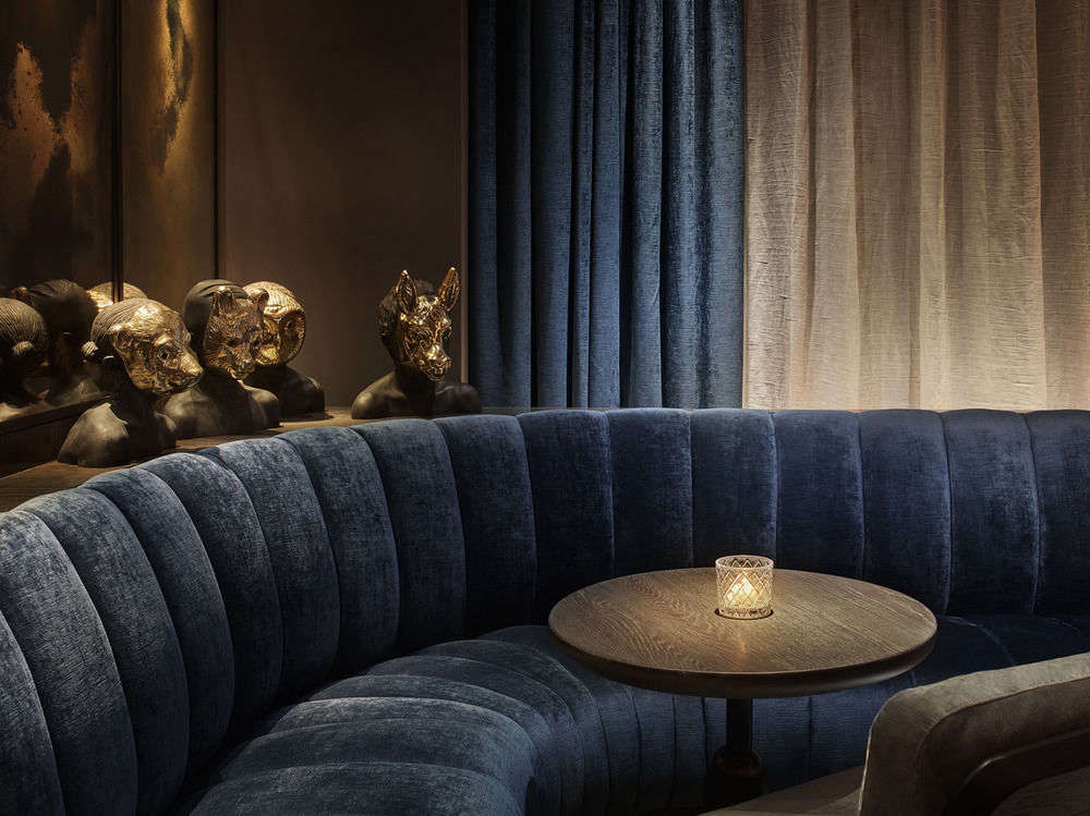11 Howard A Scandi Paradise in SoHo New York 11 howard velvet banquette