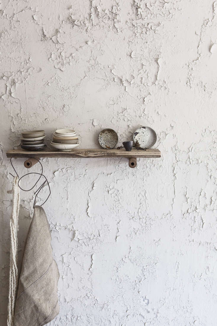 In the Atelier St. George showroom in Vancouver, the walls are intentionally crumbling. Read more inPeasant Chic: Atelier St. George in Vancouver.