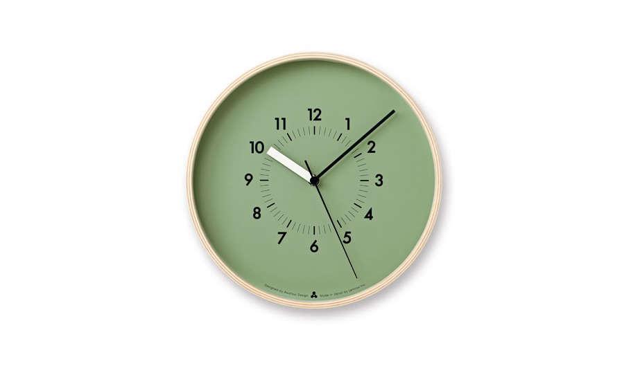 colorful modern wall clocks remodelista 2 14