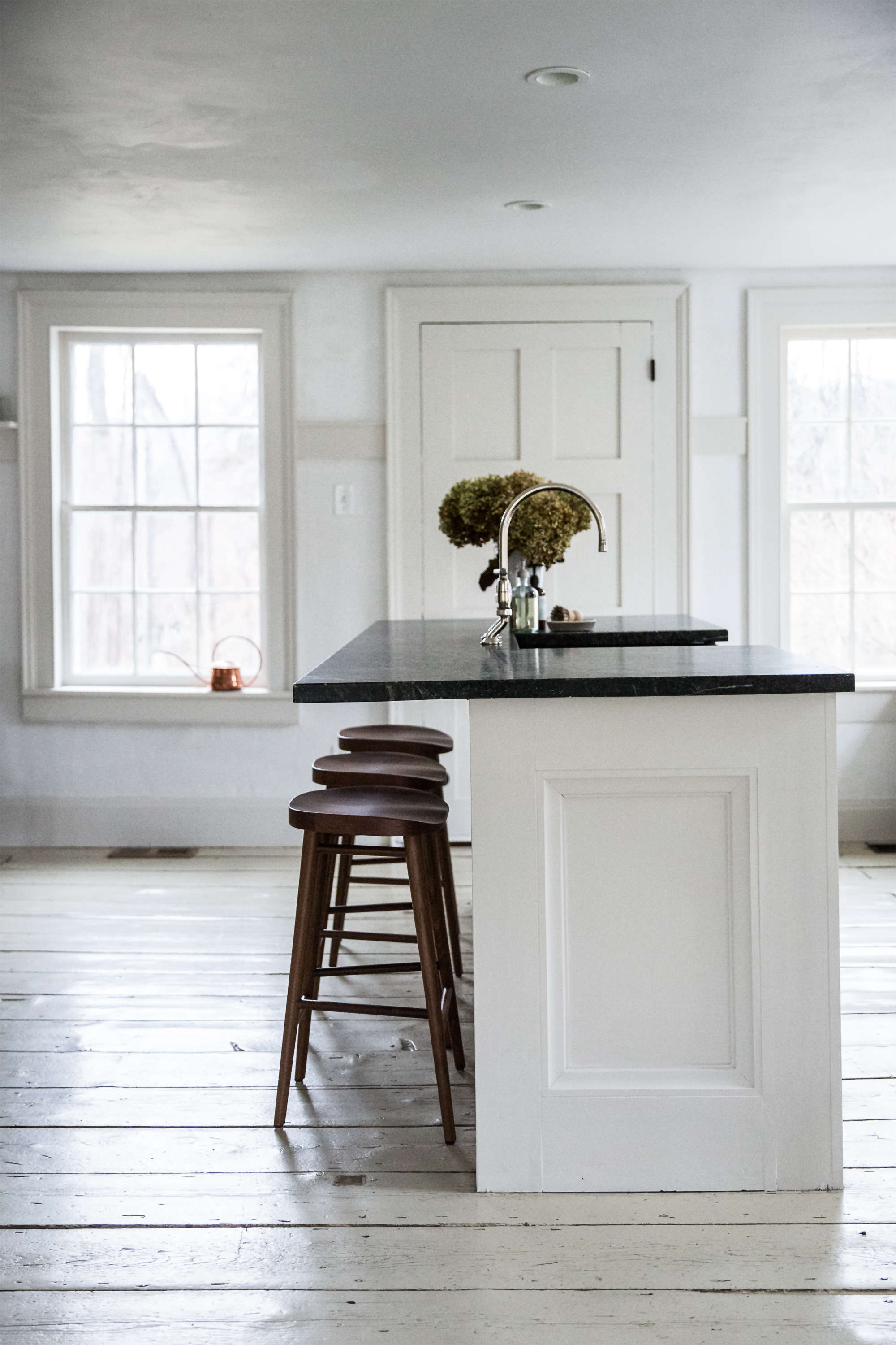 jersey ice cream co. old chatham house, remodelista, kitchen island 2 9